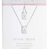 Dogeared As I Give I Receive Layered Necklace | Nordstrom