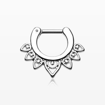 Acerose Filigree Septum Clicker