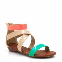 open-toe-wedge-sandals GREY NUDE - GoJane.com