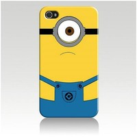 Despicable Me Hard Case Cover Skin for Iphone 4 4s Iphone4 At&t Sprint Verizon Retail Packing