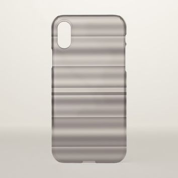 Metal Stripes Look iPhone X Case