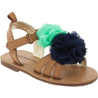 Old Navy Flower Strap Sandals For Baby