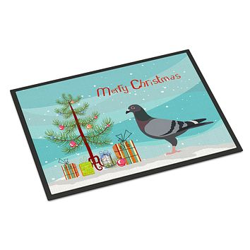 Racing Pigeon Christmas Indoor or Outdoor Mat 24x36 BB9318JMAT