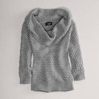 AE Knit Cowl Sweater | American Eagle Outfitters