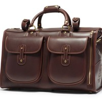 Leather Weekender | Express No. 2 in Walnut | Ghurka