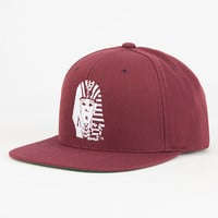 Last Kings Og Logo Mens Snapback Hat Maroon One Size For Men 26824732301