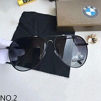 BMW Polarized Metal Men's Large Frame Sunglasses F-A-SDYJ NO.2
