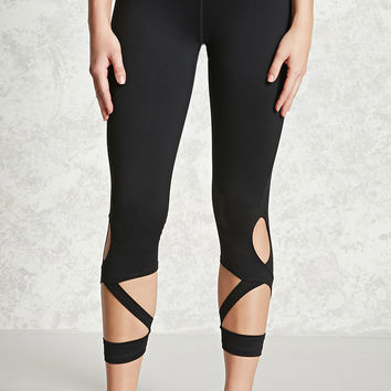 Active Cutout Capri Leggings