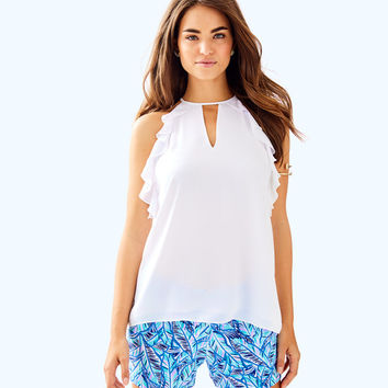 Padma Top | 30503-resortwhite | Lilly Pulitzer