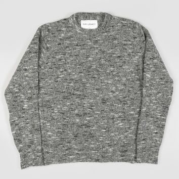 Our Legacy Regular Round-Neck Spotted Grey