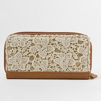 Crochet Overlay Wallet - Women's Bags | Buckle
