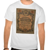 five Rouble T ahirt T-shirts