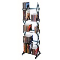 Atlantic Mitsu 5 Tier Media Rack In Smoke - Walmart.com