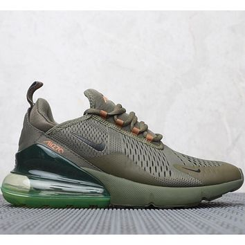 Nike Air Max 270 Flyknit Atmospheric cushion jogging shoes