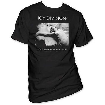 JOY DIVISION LOVE WILL TEAR US APART MENS TEE