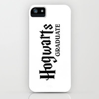 Harry Potter - Hogwarts Graduate iPhone & iPod Case by Yiannis Telemachou