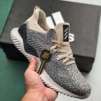 Adidas AlphaBounce Causal Classic Running Sports Sneakers Shoes