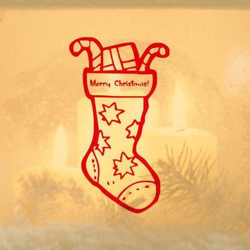 PEAPIX3 Christmas Gifts Wall Sticker Innovative Strong Character Children Socks [9356497476]