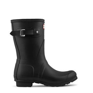 Hunter Original Short Rain Boot Women's - Black