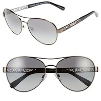 Women's Michael Kors Collection 60mm Aviator Sunglasses