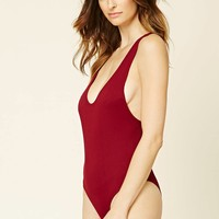 Ribbed Knit One-Piece