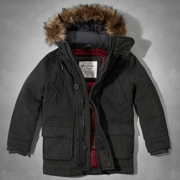 Lake Placid Wool Parka