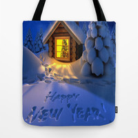 MERRY CHRISTMAS Tote Bag by Acus