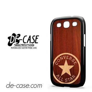 Converse Wood For Samsung Galaxy S3 Case Phone Case Gift Present YO