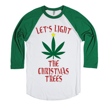 Marijuana Christmas Weed - Let's Light The Christmas Trees