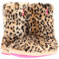 Justin Furry Boot Slippers