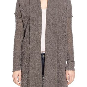 James Perse Bouclé Wool Cardigan | Nordstrom