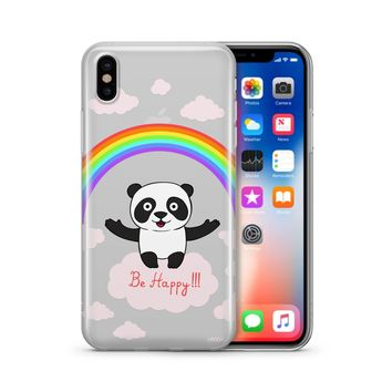 Be Happy - Clear Case Cover