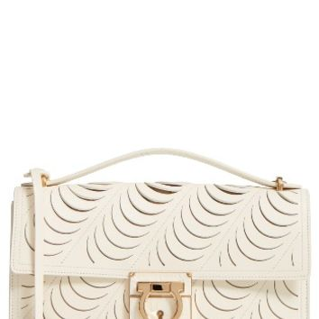 Salvatore Ferragamo Medium Aileen Leather Shoulder Bag | Nordstrom