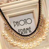 New Arrival Gift Jewelry Shiny Stylish Pearls Hot Sale Necklace [6586421063]