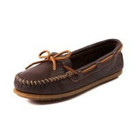 Womens Minnetonka Leather Moc Casual Shoe