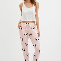 Panda Graphic PJ Pants
