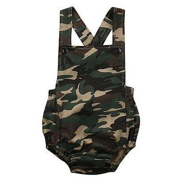 Baby Boy Camo Jumper