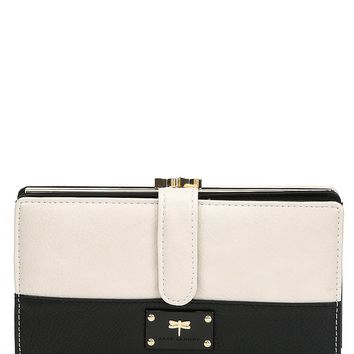 Kate Landry Troy Colorblock Large Checkbook Wallet | Dillards