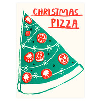 Christmas Pizza Boxed Cards