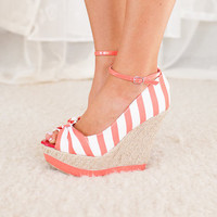 Sail with Me Coral Wedges