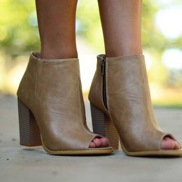 Made for Walking Booties - Beige