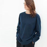 ACB Blouse in Navy