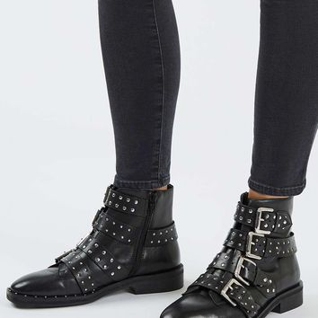 AMY Studded Ankle Boots | Topshop