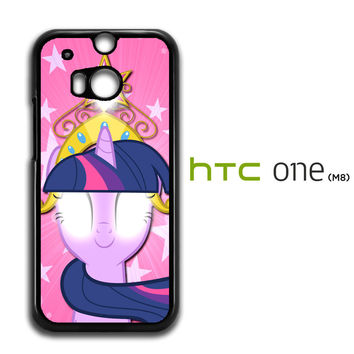 Cartoon My Little Pony Pink HTC One M8 Case