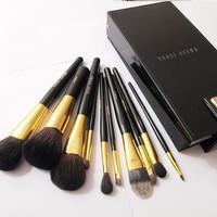 Professional Luxury 9-pcs Box Set Make-up Brush Set = 4831007300