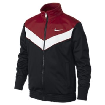 Nike T45 Victory Boys' Track Jacket Size Small (Black)