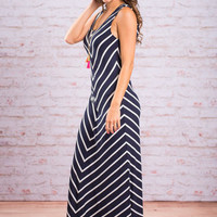 Day To Remember Maxi Dress, Navy