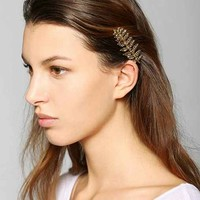 Leaf Hair Comb- Gold One