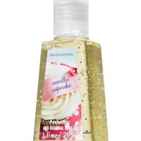 Bath & Body Works Vanilla Cupcake Pocketbac - Anti-bacterial Hand Sanitizer Gel 1 fl oz