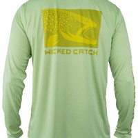 Wicked Brown Trout Performance Fishing Shirt